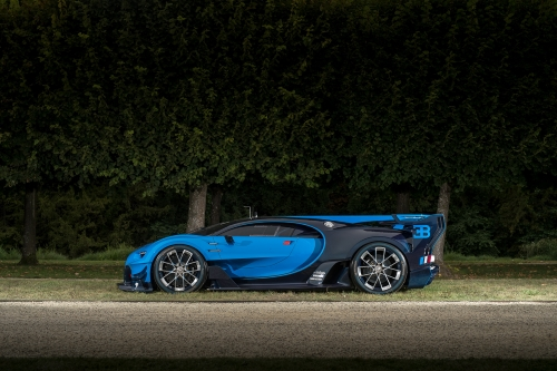 Photo de la semaine - Bugatti Vision Gran Turismo