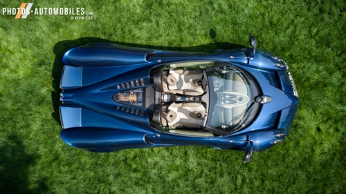 Photo de la semaine - Pagani Huayra Roadster