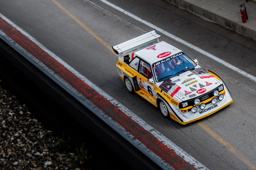 Photo de la semaine - Audi Quattro